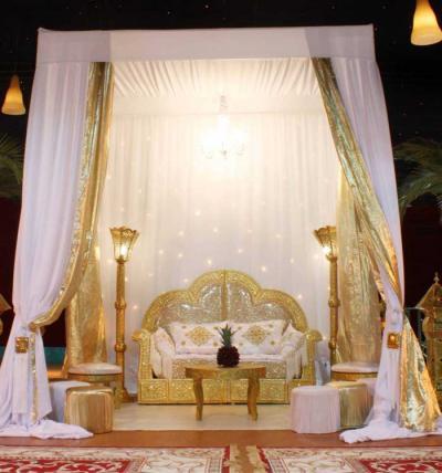 Dj abdel mariages - Decoration oriental mariage ...